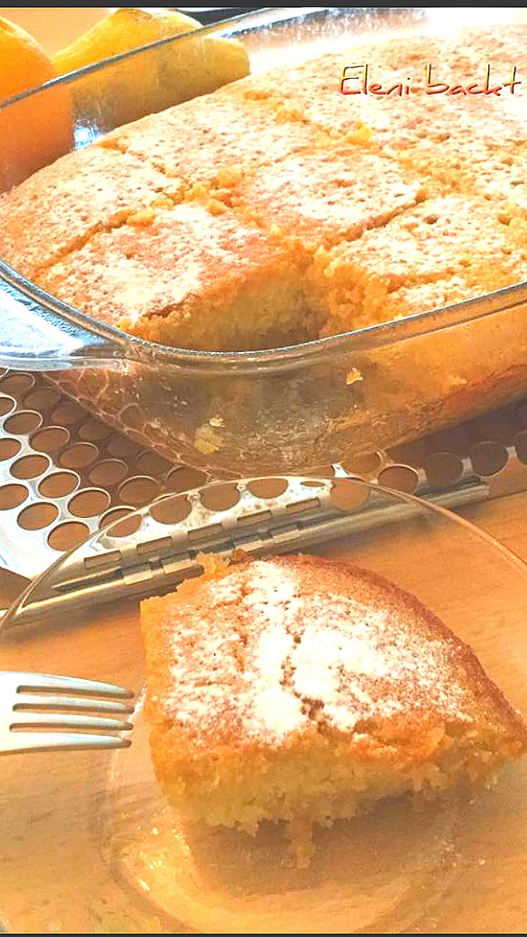 griechischer grießkuchen